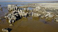 Sular çekilince ortaya çıktı, binlerce yıllık: Artık bu yapılar karada
