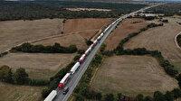 Sınırda 25 kilometrelik TIR kuyruğu: Şoförler isyan etti