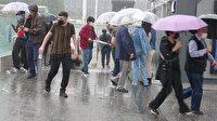İstanbul'a kuvvetli sağanak yağış uyarısı