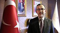 Bakan Kasapoğlu'ndan yurtlarda yer tartışmasına ilişkin açıklama