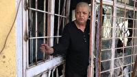 Yanan evde mahsur kalan kadın az daha ölüyordu: 'Kurtarın beni ölüyorum' diye bağırınca komşuları yetişti