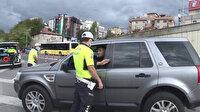 İstanbul'da çakarlı araç denetimi: Ekipler tek tek inceledi