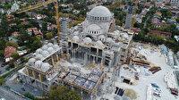 Barbaros Hayrettin Paşa Camii'nde sona doğru: Yüzde 95'i tamamlandı