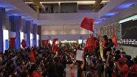 Brezilya'daki eşitsizliği protesto için borsa binasını bastılar