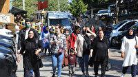 İstanbul'un yanı başında: Herkes akın akın buraya geliyor