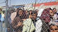 Pakistan'a geçmek isteyen binlerce Afgan sınır kapısında uzun kuyruklar oluşturdu