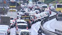 İstanbul'da trafik yoğunluğu yüzde 70 seviyelerine çıktı