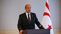 KKTC Cumhurbaşkanı Tatar: Cumhurbaşkanı Erdoğan'ın BM konuşması bize güç verdi