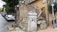 Yürek burkan görüntü:  Sokak aralarında kalmış tarihi çeşmeler harap durumda