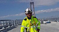 Çanakkale Köprüsü'nde bir ilk: Bisikletle köprüyü geçti