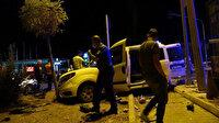 Polis otosu ile otomobil çarpıştı: İkisi polis beş yaralı