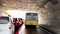 Yine İETT yine arıza: Başakşehir'de trafik felç oldu
