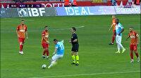 Hamsik'in orta sahadan attığı gol geçersiz sayıldı
