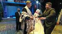 Evlenen abisine sürpriz yaptı: 50 metre uzunluğunda banknotlar hazırladı