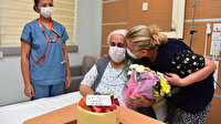 Tuzla Belediye Başkanı Şadi Yazıcı'dan hastanede tedavi gören vatandaşa sürpriz