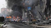 İtalya'da uçak düştü: 8 kişi öldü