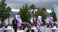 Kocaeli Büyükşehir Belediyesi tarafından 50 Roman çiftin nikahı kıyıldı