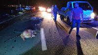 Konya'da minibüs koyun sürüsüne çarptı: 7 kişi yaralandı, 34 koyun öldü