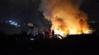 Bodrum'da korkutan yangın: Beş yıldızlı otelin yakıt tankı patladı