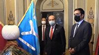 KKTC Cumhurbaşkanı Ersin Tatar'dan Ertuğrul Gazi Türbesi'ne ziyaret