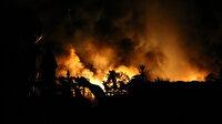 Muğla'da otelin yakıt tankı patladı ortalık savaş alanına döndü