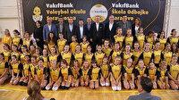VakıfBank Spor Kulübü'nden Saraybosna Voleybol Okulu'nda üst düzey ziyaret