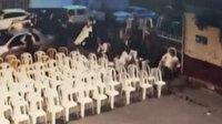 Denizli'de korku dolu anlar: Tüfekle düğünü bastı davetliler kaçacak yer aradı