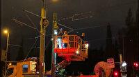 Tramvay elektrik kablolarında arıza: Şehitlik Durağı kapatıldı