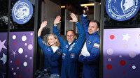 Uzayda çekilecek ilk film: Rus yönetmen ve oyuncu yola çıktı