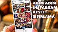 Instagram Keşfet Sıfırlama ve Silme Nasıl Yapılır?