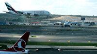 Dev uçaklar İstanbul Havalimanı'nda aynı karede görüntülendi
