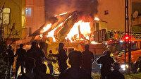 Ümraniye'de korku dolu anlar: Vatandaşlar yangın ve patlama sesleri ile sokağa döküldü