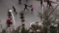 Beylikdüzü'nde bir sürücü trafikte kavga ettiği motokuryeyi çekiçle kovaladı