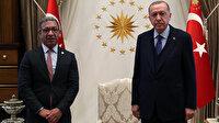Cumhurbaşkanı Erdoğan PAB Başkanı Pacheco'yu kabul etti