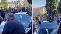 Boğaziçi Üniversitesi'nde rektörün makam aracının üzerine çıkan iki kişi tutuklandı