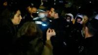 Boğaziçili eylemciler Türk polisine 'terörist' dedi