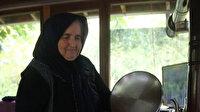Selzede Ayşe teyze afet bölgesinde çalışan personele 'gönül sofrası' kuruyor