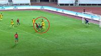 Süper Lig'in yeni forveti milli takımda muhteşem bir gole imza attı