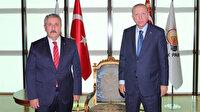Cumhurbaşkanı Erdoğan, BBP Genel Başkanı Mustafa Destici'yi kabul etti