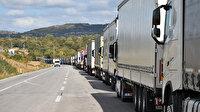 Sınır kapılarında 'kaçak göçmen' denetimi arttı: TIR kuyrukları uzadı