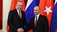 Sürpriz temas: Cumhurbaşkanı Erdoğan Putin ile görüştü