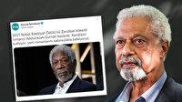 Borçka Belediyesi aktör Morgan Freeman'ı Nobel Ödülü'nü alan yazar olarak paylaştı alay konusu oldu