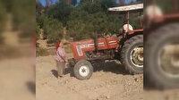 Antalya'da miras kavgası: Ablasının üzerinden traktörle geçerek yaraladı