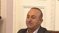 Ukraynalı öğrenciler Aşık Veysel'in 'Uzun İnce Bir Yoldayım' türküsünü Bakan Çavuşoğlu için söyledi