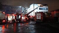Eyüpsultan'da 4 katlı binanın çatı katında yangın paniği