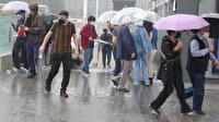 İstanbul'da yağmur bugün de devam ediyor