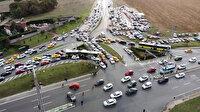 İstanbul trafiğinde Formula 1 yoğunluğu
