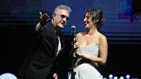 Altın Portakal'da konuşma süresi gerginliği: Nihal Yalçın'ın konuşması uzayınca Tamer Karadağlı ödülü kendisine uzattı