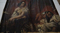 Tokat'ta ele geçirildi tam 140 yıllık: Yahya Peygamber tablosu orijinal çıktı
