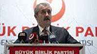 BBP Genel Başkanı Destici Millet İttifakı'na seslendi: Lafı eveleyip gevelemeyin HDP sizin ittifak ortağınız